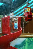 dziewczyny waterpark Zdjęcie Stock