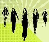 dziewczyny wektorowe mod Zdjęcia Stock