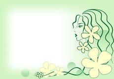 dziewczyny wiosna Fotografia Stock
