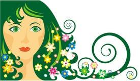 dziewczyny wiosna Zdjęcie Royalty Free