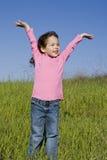 dziewczyny wiosna Obrazy Royalty Free