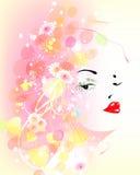 dziewczyny wiosna wektor ilustracja wektor