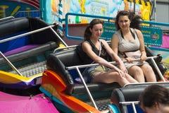 dziewczyny zabawnych ma dwóch młodych Fotografia Royalty Free