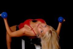 dziewczyny zdrowia fizycznego fitness Obraz Royalty Free