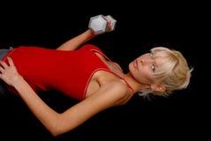 dziewczyny zdrowia fizycznego fitness Obrazy Royalty Free
