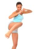 dziewczyny zdrowia fizycznego fitness Obraz Stock