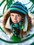 dziewczyny zima Fotografia Stock