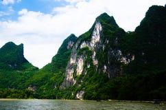 Dziewięć koni obrazu góra, Guilin Fotografia Royalty Free