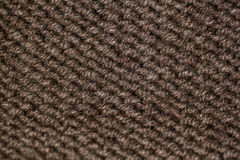 Dziewiarski wzór od beżowej lub brown woolen ciepłej miękkiej przędzy Zdjęcia Stock