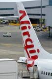 Dziewicy Australia linie lotnicze Zdjęcie Royalty Free