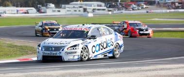 Dziewicy Australia Supercars, Winton, Australia Zdjęcie Stock