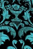 Dziewicza salopa kilka barwi Turkus, błękit, pomarańcze, czarny i biały zdjęcia royalty free