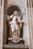 Dziewicza sztuki rzeźby bazylika - Watykan, Włochy Obraz Stock