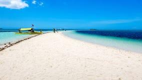 Dziewicza wyspa Bohol Zdjęcie Royalty Free