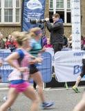 Dziewiczego pieniądze Londyński maraton, 24th 2016 Kwiecień Obrazy Stock