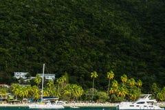 Dziewiczej wyspy plaża Zdjęcie Stock