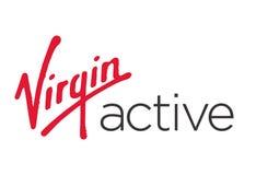 Dziewiczy Aktywny logo ilustracji