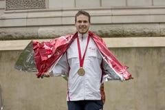 Dziewiczy pieniądze Londyn maraton 24th 2016 Kwiecień Zdjęcia Royalty Free
