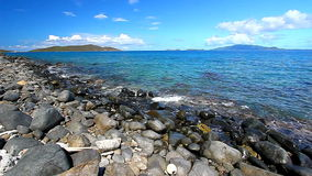 Dziewiczych wysp Karaiby Seascape zdjęcie wideo