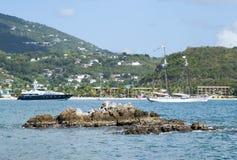 Dziewiczych wysp zatoka Zdjęcie Royalty Free