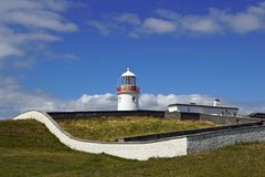 Dzika Atlantycka sposobu St Johns punktu latarnia morska fotografia stock