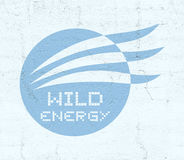 Dzika energetyczna ikona Zdjęcie Stock