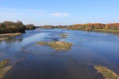 Dzika rzeka Fotografia Royalty Free