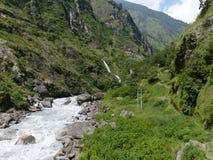 Dzika rzeka obrazy stock