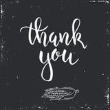 Dziękczynienie dnia rocznika prezent oznacza i karty Ręcznie pisany literowanie Zdjęcie Stock