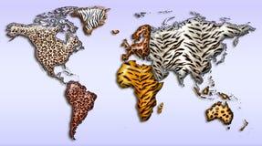 dziki świat ilustracji