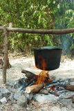 Dziki camping Zdjęcie Royalty Free