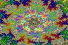 dziki fractal lasowy wizerunek obraz royalty free