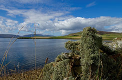Dziki i daleki szkocki krajobraz Obrazy Stock
