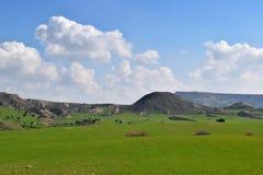 Dziki krajobraz w Cypr Obraz Royalty Free