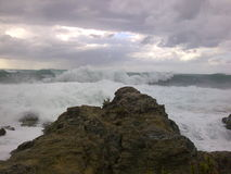 Dziki morze Obraz Royalty Free