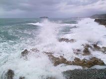 Dziki morze Zdjęcia Royalty Free