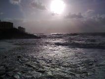 Dziki morze Zdjęcia Stock