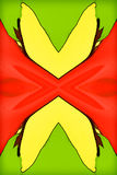 Dziki Motyli abstrakt Obrazy Stock