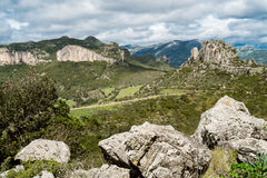 Dziki Sardinia Obrazy Royalty Free