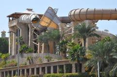 Dziki wadi wody park w Dubaj Zdjęcie Royalty Free