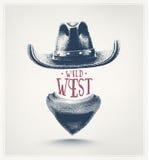 dziki zachód ilustracji