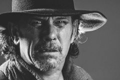 Dziki Zachodni Gunslinger Obraz Stock