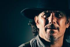 Dziki Zachodni Gunslinger zdjęcia royalty free