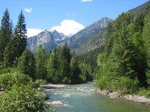 dzikie góry Zdjęcia Stock