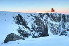 Dzikie Krkonose góry Obraz Stock