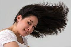 dzikie włosy Fotografia Royalty Free