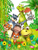 dzikie zwierzę royalty ilustracja