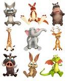 Dzikie Zwierzę kolekcja Obraz Stock