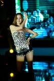 Dzikiego tana pierwszy chybienie Jiangxi Międzynarodowy konkurs Obrazy Royalty Free