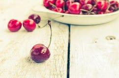 Dzikiej wiśni cukierki wesoło Obraz Royalty Free